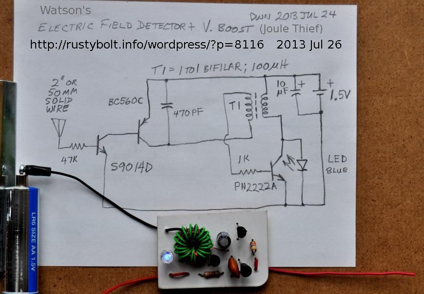 2013-07-26 Joule Thief E Field Detector Cont\'d – RustyBolt.Info ...